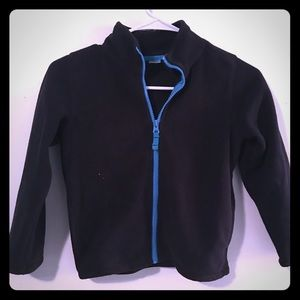 Kid boy fleece zip jacket